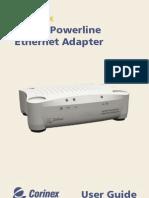 CX AV200 Powerline Ethernet Adapter Manual Eng Manual