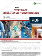 Drug Safety and Pharmacovigilance