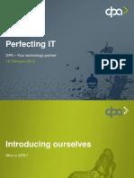 DPA - კომპანიის ისტორია, მიზნები და ამოცანები