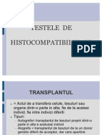 teste de histocompatibilitate