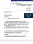 MHPC request for FOAA fee waiver - May 23, 2011