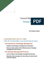 General Management - Strategic Management
