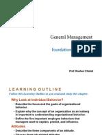 General Management- Behavior