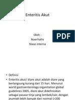 Enteritis Akut Revisi