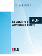 12 Ways to Boost Workplace Safety