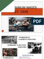 Ilaw Minimum Wages Act 1948