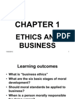 Chapter 1 (Ethics and Business)