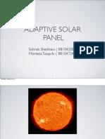 Adaptive Solar Panel