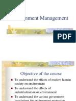 Environment Management Chapter1