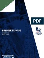 Premier League Handbook 2011 12