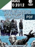 Lanzamientos Pda Cómics MARZO2012