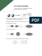 Orbitals and Covalent Bonding