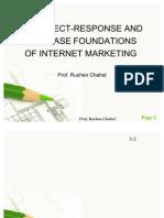 Internet Marketing - Response and Database Foundations