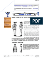 Manual of Arms With m1