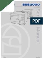 Eschmann SES2000 - Service Manual