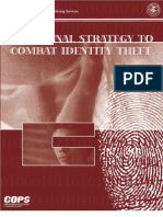 National Strat for Combating Identity Theft