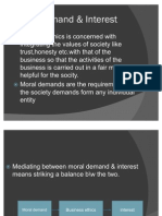 2-Moral Demand and Intrest
