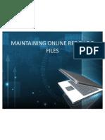 Maintaining Online Redo Log Files