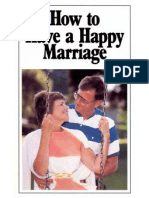 How to Have a Happy Marriage (Prelim 1988)