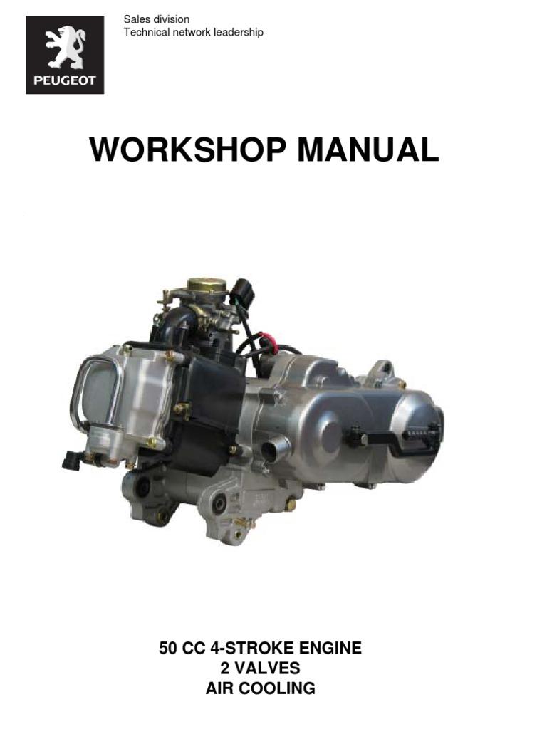 v clic workshop manual piston cylinder engine rh scribd com peugeot v clic owners manual english peugeot v clic 50 service manual