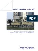 Dutch Arms Exports 2010