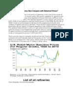 Oil Refineries (USA, Canada, Mexico)