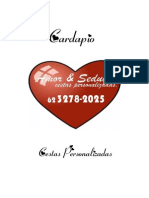 Cardapio p. vendas