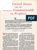 United States and the British Commonwealth in Prophecy (1954)