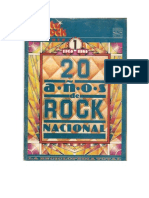 Cantarock - 20 años de Rock Nacional fasciculo1