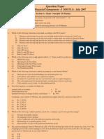 StrategicAndFinancialMgmtPapers