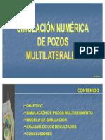 Simulacion Numerica Pozos Multi Later Ales