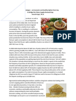 Dal Analogue – an Economic and Healthy Option from Soy to Bridge the Pulses Supply-Demand Gap