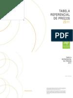 Tabela Referencial de Precos Sinapro Am 2011