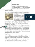 Tipo de Microprocesador