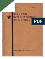 Bulletin International de L'Étoile N°15 Avril 1929 par J. Krishnamurti