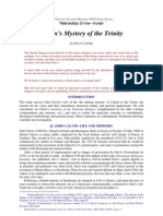 Calvin's Mystery of the Trinity