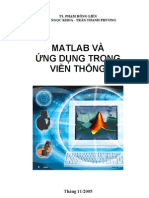 MATLAB Va Ung Dung Trong Vien Thong