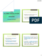 UNGS 2030 the Islamic Worldview