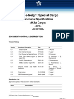 IATA - Special Cargo Functional Specifications v09 - Agents and Forwarders