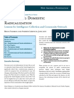 Domestic Radicalization