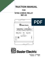 Basler BE1-25 9170200990S