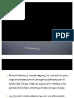 Metodología 5's+ - Ing. Miguel Morales