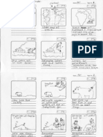 Story board for WWF Polar Bear Tracker animation