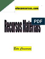 AdministraçãoRecursosMateriais [Material Previc]