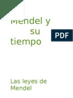 Leyes de Mendel y Su Redescubrimiento. 4º ESO