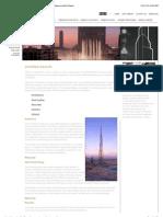 Burj Khalifa | the Tower | Design & Architecture (the Hymenocallis Flower)