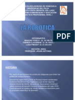 ROBOTICA PRACTICA I
