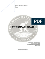 LA PERSONALIDAD (Investigación)