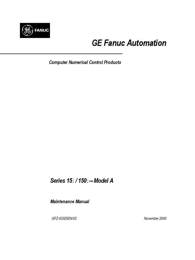 ge fanuc cnc manual numerical control battery electricity rh es scribd com Fanuc Sealing G-Code Fanuc Manuals