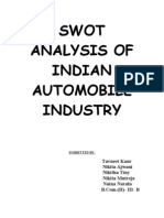Indian Auto Market Growth